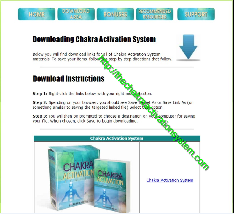 download Chakra Activation System